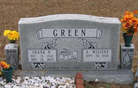 GREEN, FRANK HULLEN - Lawrence County, Arkansas | FRANK HULLEN GREEN - Arkansas Gravestone Photos