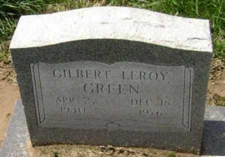 GREEN, GILBERT LEROY - Lawrence County, Arkansas   GILBERT LEROY GREEN - Arkansas Gravestone Photos