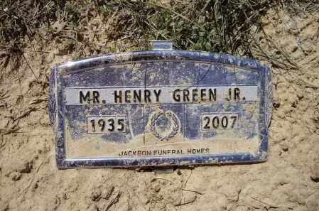 GREEN, JR., HENRY J. - Lawrence County, Arkansas | HENRY J. GREEN, JR. - Arkansas Gravestone Photos