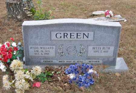 BURKHAMMER GREEN, BETTY RUTH - Lawrence County, Arkansas | BETTY RUTH BURKHAMMER GREEN - Arkansas Gravestone Photos