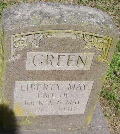 GREEN, LIBERTY MAY - Lawrence County, Arkansas | LIBERTY MAY GREEN - Arkansas Gravestone Photos