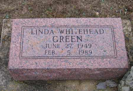 WHITEHEAD GREEN, LINDA - Lawrence County, Arkansas | LINDA WHITEHEAD GREEN - Arkansas Gravestone Photos