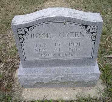 GREEN, ROSIE - Lawrence County, Arkansas | ROSIE GREEN - Arkansas Gravestone Photos