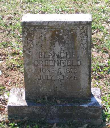 GREENFIELD, BLANCHE - Lawrence County, Arkansas | BLANCHE GREENFIELD - Arkansas Gravestone Photos