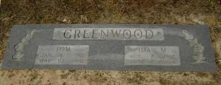 GREENWOOD, IDA M. - Lawrence County, Arkansas | IDA M. GREENWOOD - Arkansas Gravestone Photos