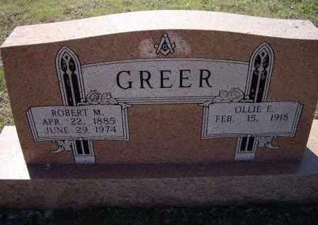 GREER, ROBERT MARION - Lawrence County, Arkansas | ROBERT MARION GREER - Arkansas Gravestone Photos