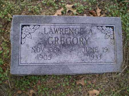 GREGORY, LAWRENCE A. - Lawrence County, Arkansas   LAWRENCE A. GREGORY - Arkansas Gravestone Photos