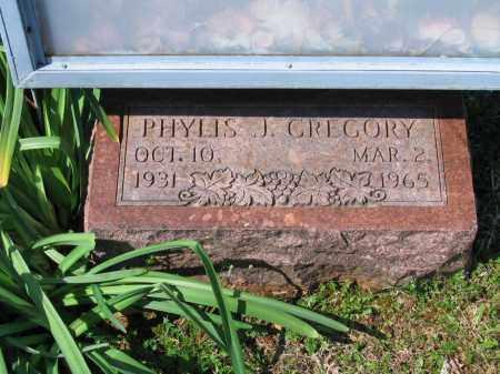 GREGORY, PHYLIS J. - Lawrence County, Arkansas   PHYLIS J. GREGORY - Arkansas Gravestone Photos