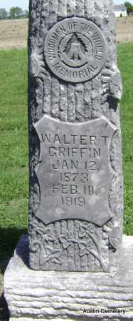 GRIFFIN, WALTER T. - Lawrence County, Arkansas | WALTER T. GRIFFIN - Arkansas Gravestone Photos