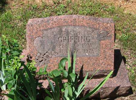 GRIFFING, CHARLES F. - Lawrence County, Arkansas | CHARLES F. GRIFFING - Arkansas Gravestone Photos