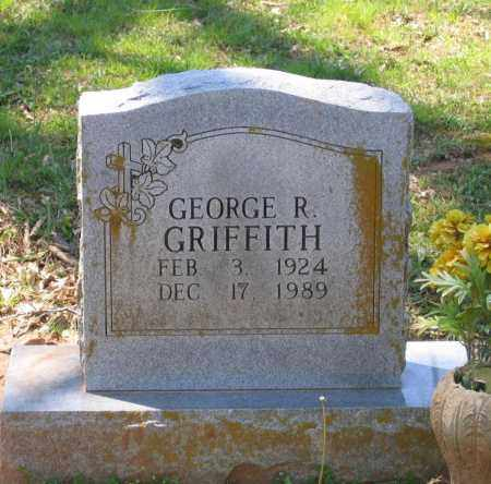 GRIFFITH, GEORGE R. - Lawrence County, Arkansas   GEORGE R. GRIFFITH - Arkansas Gravestone Photos