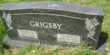 GRIGSBY, CHARLIE F. - Lawrence County, Arkansas | CHARLIE F. GRIGSBY - Arkansas Gravestone Photos