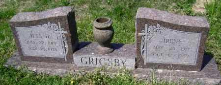 GRIGSBY, IRENE - Lawrence County, Arkansas | IRENE GRIGSBY - Arkansas Gravestone Photos