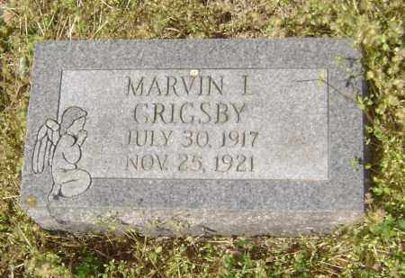 GRIGSBY, MARVIN I. - Lawrence County, Arkansas   MARVIN I. GRIGSBY - Arkansas Gravestone Photos