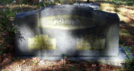 GRILLS, NEEDHAM J. - Lawrence County, Arkansas | NEEDHAM J. GRILLS - Arkansas Gravestone Photos