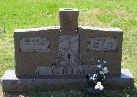 ELLIS GRIM, CAROL J. - Lawrence County, Arkansas | CAROL J. ELLIS GRIM - Arkansas Gravestone Photos