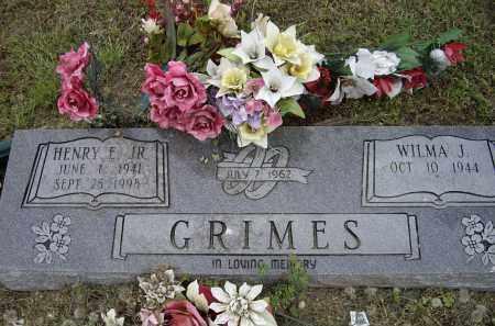 GRIMES, JR., HENRY E. - Lawrence County, Arkansas   HENRY E. GRIMES, JR. - Arkansas Gravestone Photos