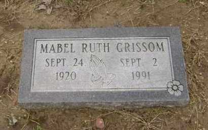 GRISSOM, MABEL RUTH - Lawrence County, Arkansas | MABEL RUTH GRISSOM - Arkansas Gravestone Photos