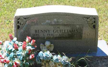 GUILLIAMS, BENNY CARL - Lawrence County, Arkansas | BENNY CARL GUILLIAMS - Arkansas Gravestone Photos