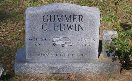 GUMMER, C. EDWIN - Lawrence County, Arkansas | C. EDWIN GUMMER - Arkansas Gravestone Photos