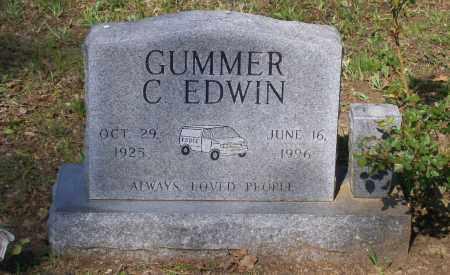 GUMMER, C. EDWIN - Lawrence County, Arkansas | C. EDWIN GUMMER - Arkansas Gravestone Photos