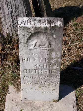 GUTHRIE, ARTHUR GARFIELD - Lawrence County, Arkansas | ARTHUR GARFIELD GUTHRIE - Arkansas Gravestone Photos
