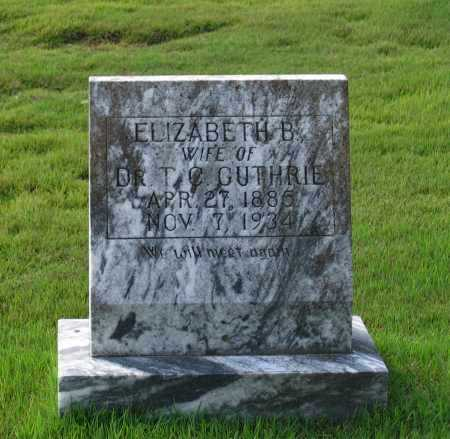 "GUTHRIE, BARBARA ELIZABETH ""LIZZIE"" - Lawrence County, Arkansas | BARBARA ELIZABETH ""LIZZIE"" GUTHRIE - Arkansas Gravestone Photos"