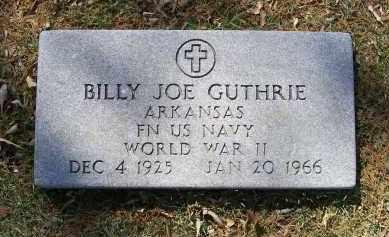 GUTHRIE (VETERAN WWII), BILLY JOE - Lawrence County, Arkansas | BILLY JOE GUTHRIE (VETERAN WWII) - Arkansas Gravestone Photos