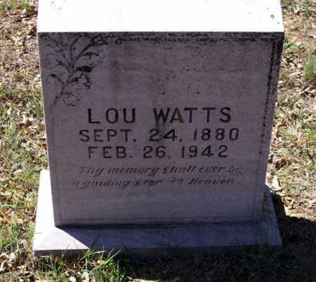 """GUTHRIE, CYNTHIA LOUISE """"LOU"""" - Lawrence County, Arkansas 
