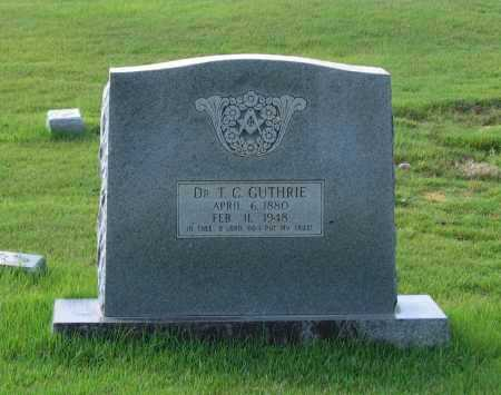 """GUTHRIE, MD, THOMAS CAMPBELL """"T. C."""" - Lawrence County, Arkansas   THOMAS CAMPBELL """"T. C."""" GUTHRIE, MD - Arkansas Gravestone Photos"""