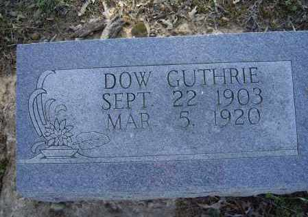 GUTHRIE, DOW - Lawrence County, Arkansas | DOW GUTHRIE - Arkansas Gravestone Photos