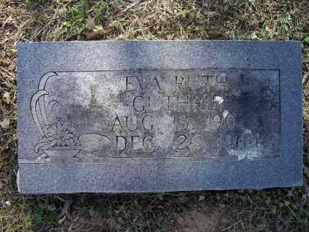 GUTHRIE, EVA RUTH - Lawrence County, Arkansas   EVA RUTH GUTHRIE - Arkansas Gravestone Photos