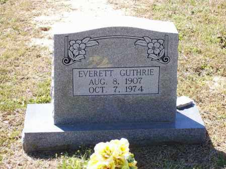 GUTHRIE, EVERETT - Lawrence County, Arkansas | EVERETT GUTHRIE - Arkansas Gravestone Photos