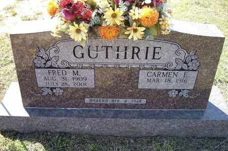 GUTHRIE, FRED M. - Lawrence County, Arkansas | FRED M. GUTHRIE - Arkansas Gravestone Photos
