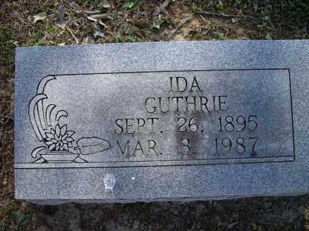 GUTHRIE, IDA - Lawrence County, Arkansas   IDA GUTHRIE - Arkansas Gravestone Photos