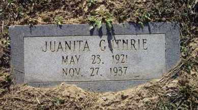 GUTHRIE, JUANITA - Lawrence County, Arkansas | JUANITA GUTHRIE - Arkansas Gravestone Photos