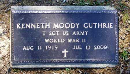GUTHRIE (VETERAN WWII), KENNETH MOODY - Lawrence County, Arkansas | KENNETH MOODY GUTHRIE (VETERAN WWII) - Arkansas Gravestone Photos