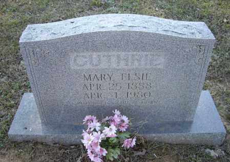 GUTHRIE, MARY ELSIE - Lawrence County, Arkansas | MARY ELSIE GUTHRIE - Arkansas Gravestone Photos