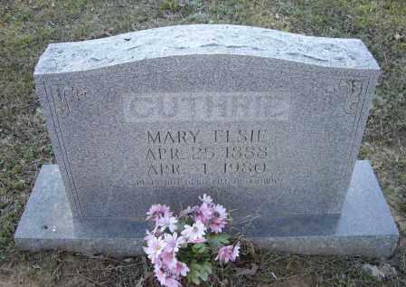 ZEEK GUTHRIE, MARY ELSIE - Lawrence County, Arkansas | MARY ELSIE ZEEK GUTHRIE - Arkansas Gravestone Photos