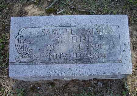GUTHRIE, SAMUEL CALVIN - Lawrence County, Arkansas   SAMUEL CALVIN GUTHRIE - Arkansas Gravestone Photos