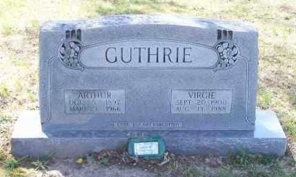 GUTHRIE, VIRGIE ESTERLEE - Lawrence County, Arkansas | VIRGIE ESTERLEE GUTHRIE - Arkansas Gravestone Photos