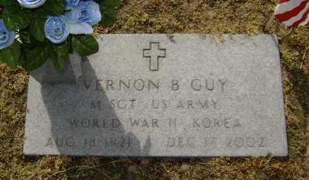 GUY  (VETERAN 2 WARS), VERNON B - Lawrence County, Arkansas | VERNON B GUY  (VETERAN 2 WARS) - Arkansas Gravestone Photos