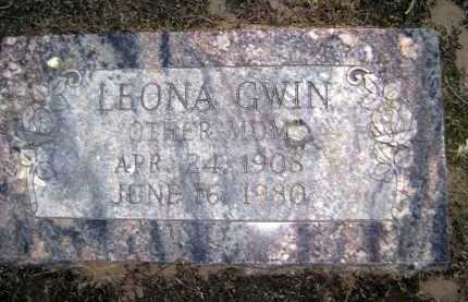 GWIN, LEONA A. - Lawrence County, Arkansas | LEONA A. GWIN - Arkansas Gravestone Photos