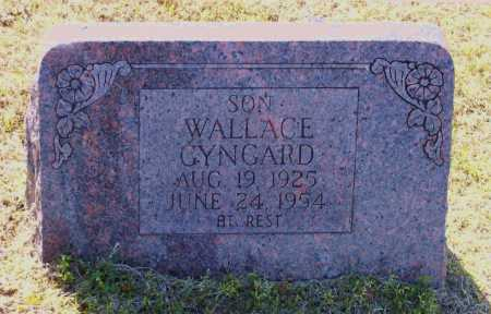 GYNGARD, WALLACE JAMES - Lawrence County, Arkansas | WALLACE JAMES GYNGARD - Arkansas Gravestone Photos