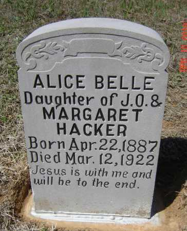 HACKER MADREY, ALICE BELLE - Lawrence County, Arkansas | ALICE BELLE HACKER MADREY - Arkansas Gravestone Photos