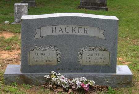 HACKER, WALTER CARL - Lawrence County, Arkansas | WALTER CARL HACKER - Arkansas Gravestone Photos