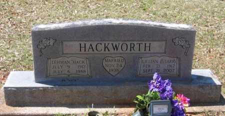 "HACKWORTH, LEHMAN JEWELL ""HACK"" - Lawrence County, Arkansas | LEHMAN JEWELL ""HACK"" HACKWORTH - Arkansas Gravestone Photos"