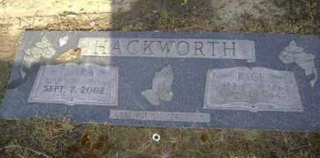AUSTIN HACKWORTH, FLORA B. - Lawrence County, Arkansas | FLORA B. AUSTIN HACKWORTH - Arkansas Gravestone Photos