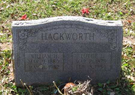 HACKWORTH, WILLIAM HENRY - Lawrence County, Arkansas   WILLIAM HENRY HACKWORTH - Arkansas Gravestone Photos
