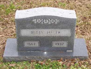 HORN HAGER, BETTY - Lawrence County, Arkansas   BETTY HORN HAGER - Arkansas Gravestone Photos